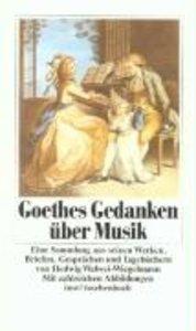 Goethe, J: über Musik