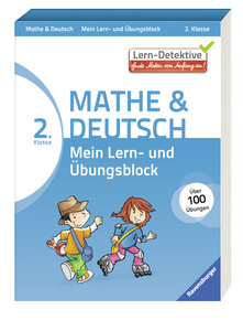 Lern-Detektive: Mein Lern- und Übungsblock Mathe & Deutsch 2. Kl