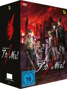 Akame ga Kill - DVD Box 1 (2 DVDs) + Sammelschuber - Limited Edi