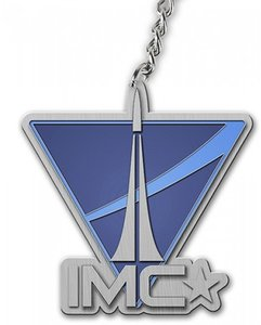 Titanfall - Schlüsselanhänger - IMC Logo