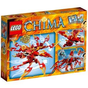 Lego 70221 - Legends of Chima: Flinx Ultimativer Phönix
