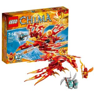 Lego 70221 - Legends of Chima: Flinx Ultimativer Phönix
