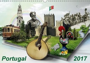 Portugal 2017 (Wandkalender 2017 DIN A3 quer)
