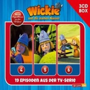Wickie 3-CD Hörspielbox zur neuen TV-Serie (CGI) Vol. 2