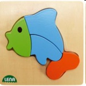 Lena 32068 - Holzpuzzle Fisch
