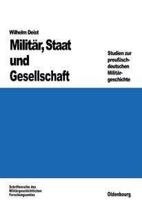 Militär, Staat und Gesellschaft