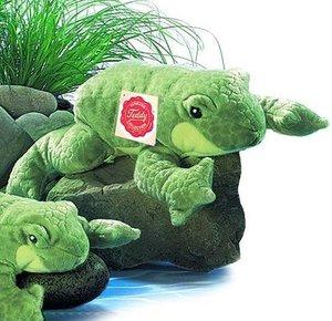 Teddy Hermann 92023 - Frosch, 23 cm, 1 Stück