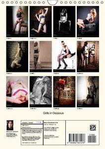 W. Lambrecht, M: Girls in Dessous (Wandkalender 2015 DIN A4