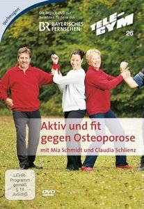 Tele-Gym 26. Aktiv und fit gegen Osteoporose. DVD-Video