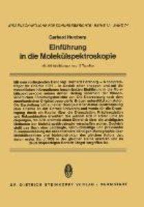 Einführung in die Molekülspektroskopie