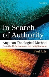 Anglican Theological Method from the Reformation to the Enlighte