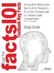 Studyguide for Mastering the Balance of the Principalship
