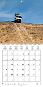 Egypt - Desert and Antiquity (Wall Calendar 2015 300 × 300 mm Sq