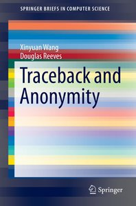 Traceback and Anonymity