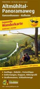Wanderkarte Altmühltal-Panoramaweg 1 : 50 000