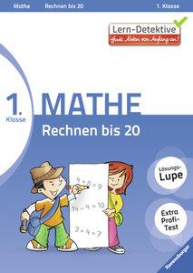 Lern-Detektive: Rechnen bis 20 (Mathe 1. Klasse)