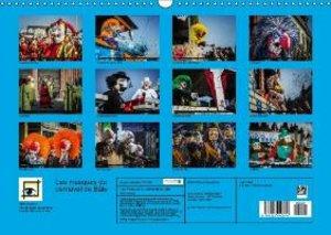 Les masques du carnaval de Bâle (Calendrier mural 2015 DIN A3 ho