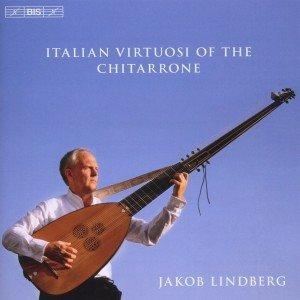 Italienische Chitarrone-Virtuosen