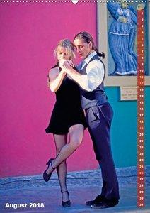 Tango - Getanzte Leidenschaft (Wandkalender 2018 DIN A2 hoch)