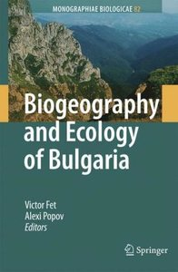Biogeography and Ecology of Bulgaria