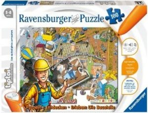 Ravensburger 00517 - tiptoi®: Baustellen-Puzzle