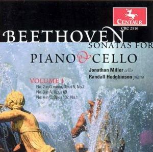 Sonaten Für Cello und Klavier vol.1