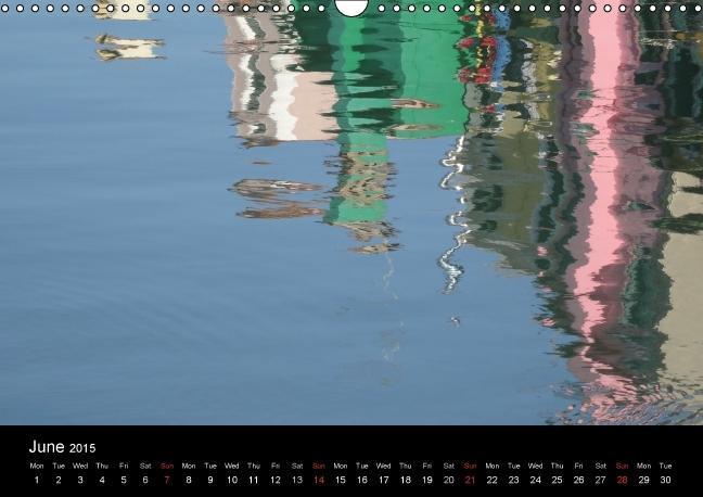 Venetian Reflections (Wall Calendar 2015 DIN A3 Landscape) - zum Schließen ins Bild klicken
