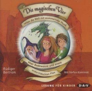 Die magischen Vier 02 retten die Welt mit wummernder Musik, eine