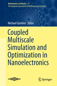 Coupled Multiscale Simulation and Optimization in Nanoelectronic