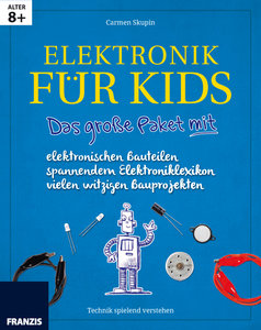 Lernpaket Elektronik für Kids mit allen elektronischen Bauteilen