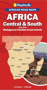 Africa Central & South incl. Madagascar 1 : 4:000 000