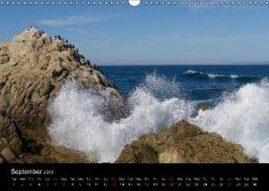 California Coasline (Wall Calendar 2015 DIN A3 Landscape)