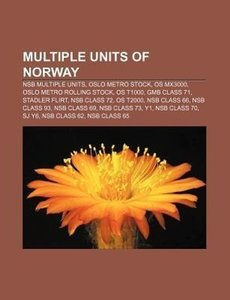 Multiple units of Norway