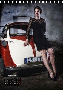 Die Isetta trifft Modells Ein Rollermobil zum Knutschen (Tischka
