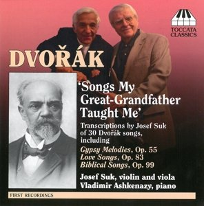 Dvorak/Suk Song Transcriptions