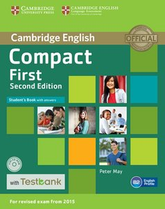 Testbank Compact First Second edition. Student's Book with answe