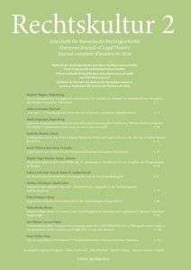 Rechtskultur 2 - Zeitschrift für Europäische Rechtsgeschichte (H