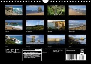 Great Ocean Road - Dream Road of Australia / UK-Version (Wall Ca