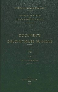 Documents Diplomatiques Francais: 1920. Tome II