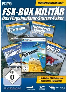 Flight Simulator X - Box Militär