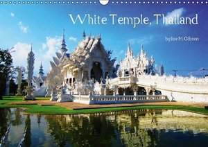 White Temple, Thailand / UK Version (Wall Calendar 2015 DIN A3 L