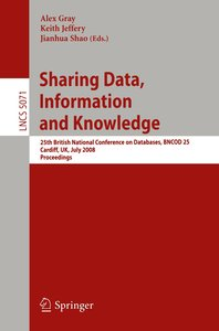 Sharing Data, Information and Knowledge