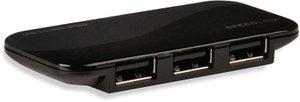 Speedlink SL-7416-SBK NOBILÉ Active USB Hub - 4-Port, schwarz