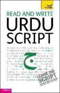 Teach Yourself. Read and write Urdu script