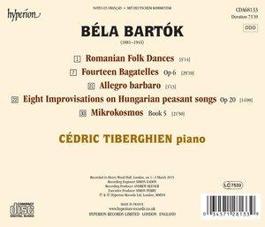 Mikrokosmos Buch 5/14 Bagatellen/Allegro barbaro/+