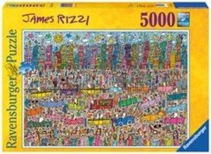 Ravensburger 17427 - James Rizzi, 5000 Teile Puzzle (153x101 cm)