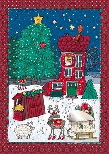 Das Weihnachtshäuschen