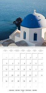 Santorini, Une perle de la Méditerranée (Calendrier mural 2015 3