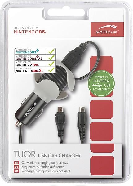 Speedlink TUOR USB Car Charger - Auto-Ladegerät für Nintendo DS, - zum Schließen ins Bild klicken