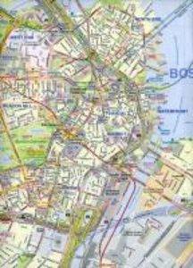Boston & USA Northeast Map 1 : 10 000 / 1 : 000 000